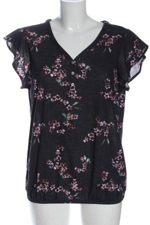 Lascana V-Ausschnitt-Shirt Allover-Druck
