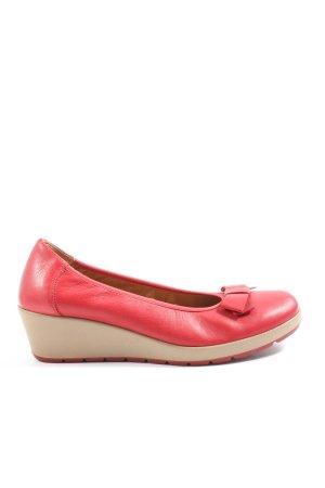 Lasocki Chaussure à talons carrés rouge style décontracté