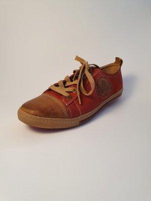 Lasocki Leder Sneaker / Halbschuhe rot braun Gr. 37
