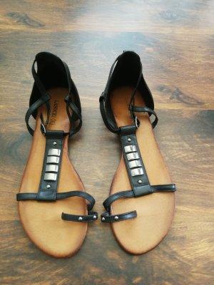 Lasocki Sandały japonki czarny