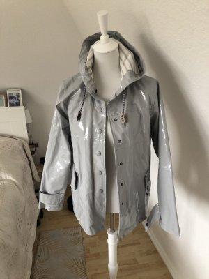 Heavy Raincoat light grey-white