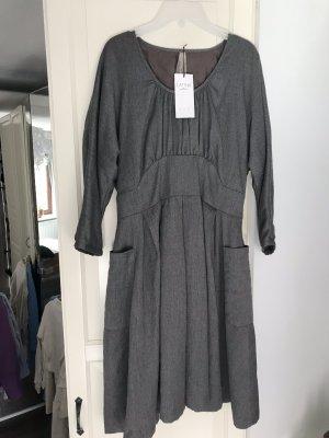 Latina Vintage Kleid Gr. 36/38 grau