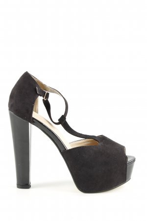 T-Strap Pumps black casual look