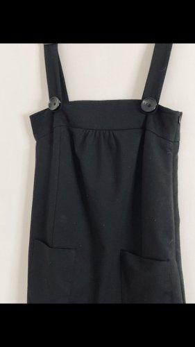 Latz Kleid Zara Basic Gr S schwarz apartes Design