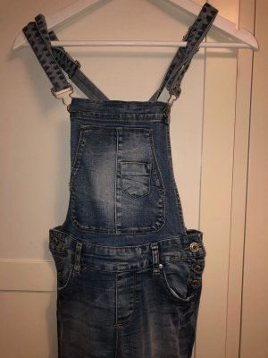 New Yorker Dungarees steel blue cotton