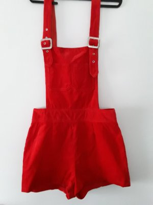 Dungarees red