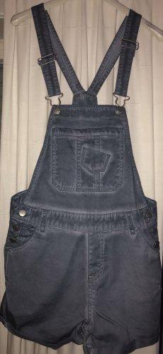 Janina Bib Shorts slate-gray