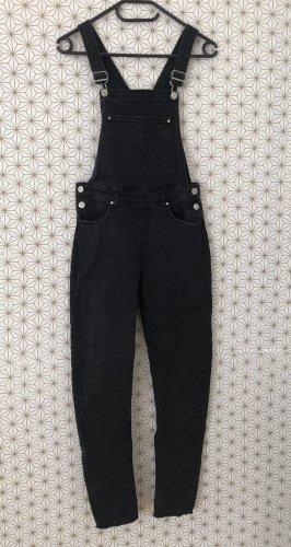H&M Salopette en jeans noir
