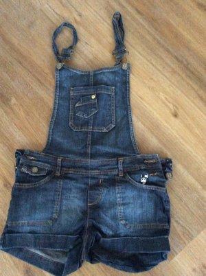 Jeans met bovenstuk donkerblauw Katoen
