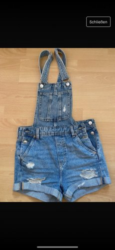 H&M Bib Denim steel blue