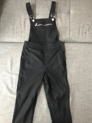 H&M Divided Bib Denim black