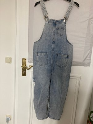 Chine Collection Dungarees azure