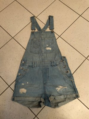 H&M Bib Denim pale blue