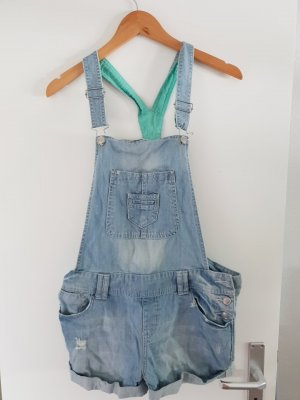 H&M Bib Shorts azure-turquoise