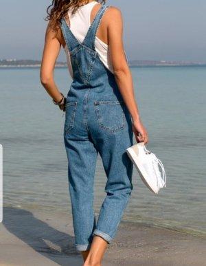 Latzhose Jeans 40/L  hell blau