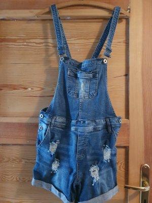 Blind Date Bib Shorts blue