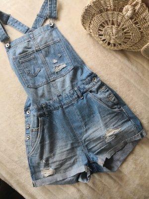 Latzhose Shorts Denim H&M