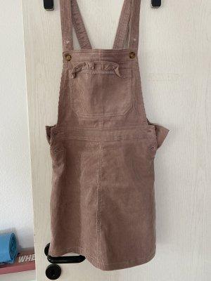 H&M Cargo Dress dusky pink
