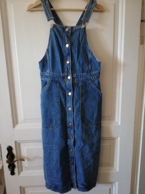 Latzkleid Denim