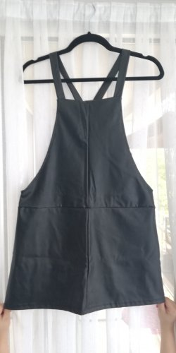 Pull & Bear Pinafore Overall Skirt black