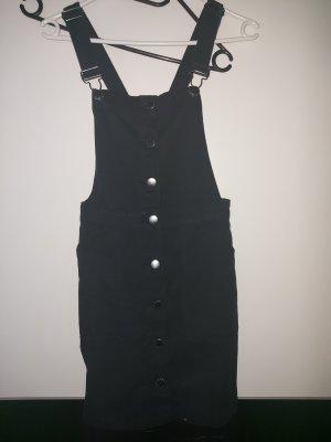 H&M Spódnica ogrodniczka czarny