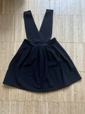 Pinafore Overall Skirt black