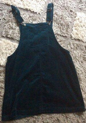 Mango Pinafore Overall Skirt petrol