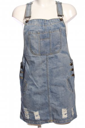 Pinafore Overall Skirt blue