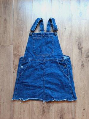 Bershka Overgooier overall rok blauw