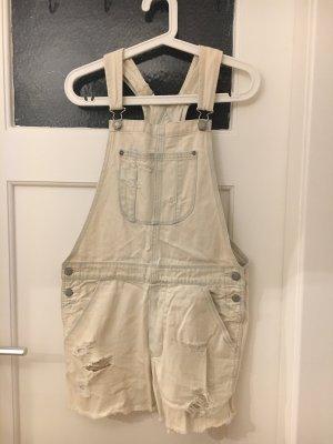 American Eagle Outfitters Short met bovenstuk azuur-wit