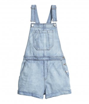 H&M Bib Denim multicolored cotton