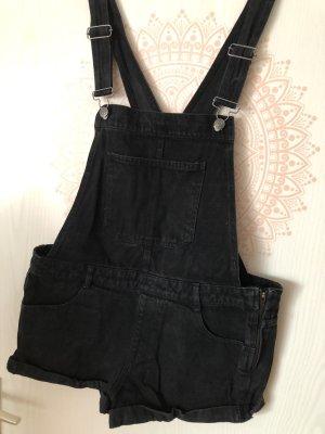 Pull & Bear Short met bovenstuk zwart-zilver