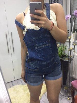 Latzshorts Sommer Einteiler Jeans