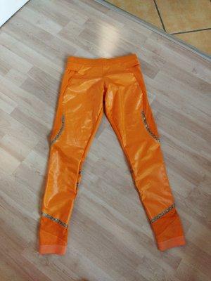 Adidas by Stella McCartney Pantalone da ginnastica arancione