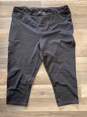 active by Tchibo Pantalone da ginnastica grigio scuro-nero
