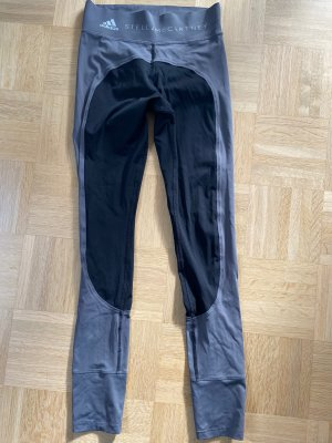Adidas by Stella McCartney Leggings gris oscuro-negro