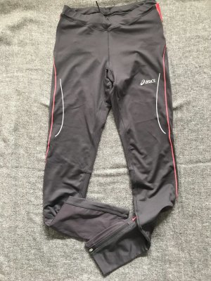 Asics Trackies dark grey-brick red