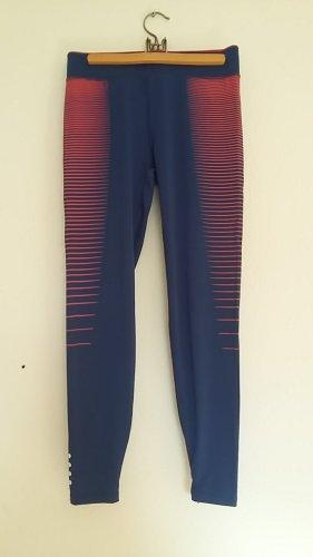 Pantalone da ginnastica rosso-blu