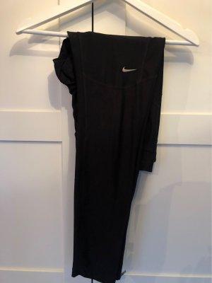 Nike Pantalone da ginnastica grigio scuro-nero