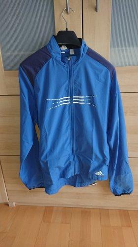 Adidas Chaqueta deportiva azul aciano