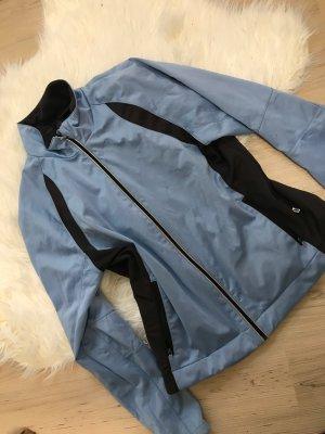 SHAMP Chaqueta deportiva negro-azul claro