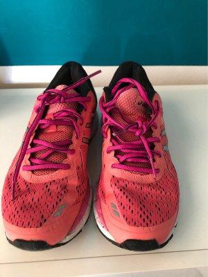 Asics Sneakers met veters neonrood-baksteenrood