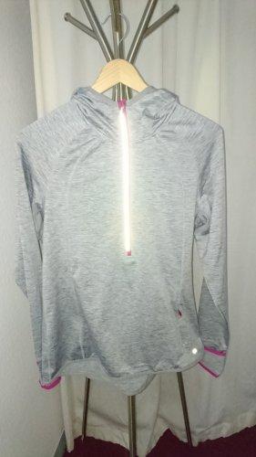 body essentials by tchibo Maglietta sport grigio chiaro-rosa