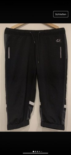 unifit Sport Shorts black-silver-colored
