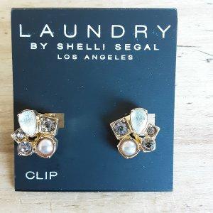 Laundry by Shelli Segal Clip d'oreille multicolore