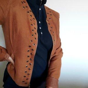 Laura Short Jacket cognac-coloured