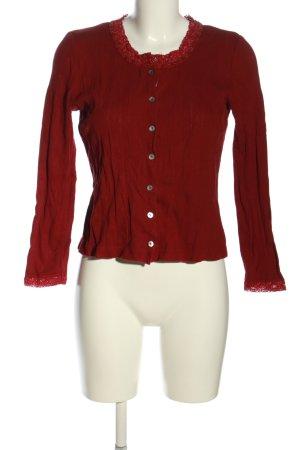 Laura Ashley Veste chemise rouge style décontracté