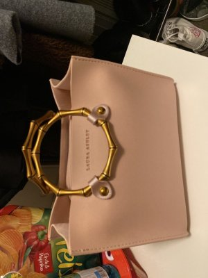 Laura Ashley Frame Bag pink leather