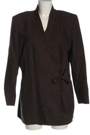 Laura Ashley Blazer in lana motivo a righe stile casual