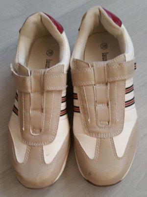 Zapatillas con velcro crema-beige claro